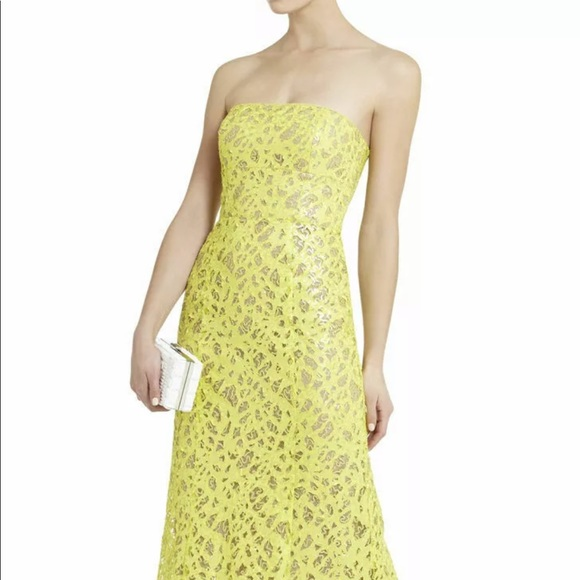 BCBG Dresses & Skirts - BCBG Natasha Sequined Gown Brand New Size 0